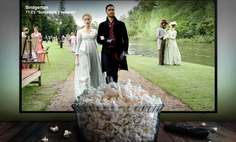 Netflix series Bridgerton.