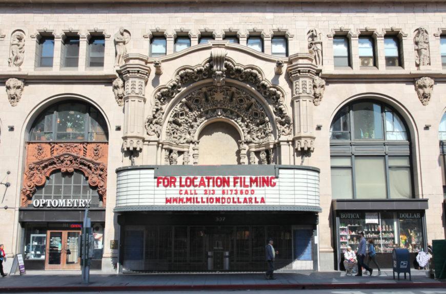 Million Dollar Theatre Los Angeles Covid Vaccination Site